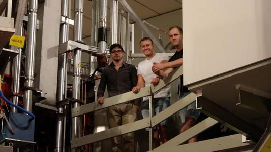 Gruppenbild im Max-Planck-Institut