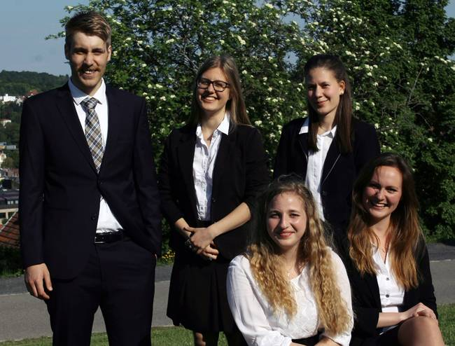 Die Studierenden der NMUN-Delegation 2018.