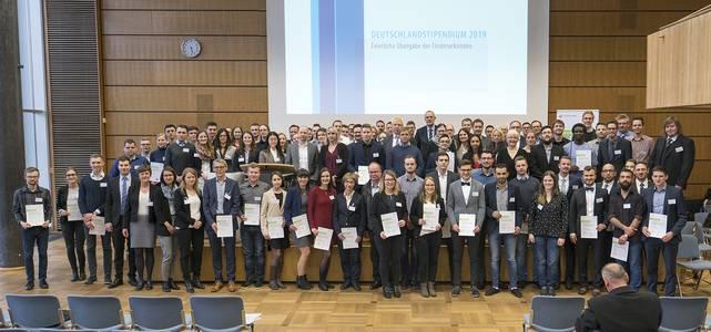 Förderer und Stipendiaten Deutschlandstipendium 2019
