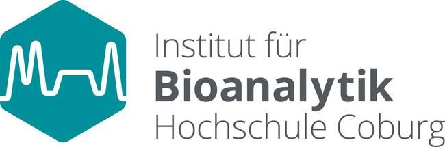 Logo mit Text: Institut für Bioanalytik Hochschule Coburg