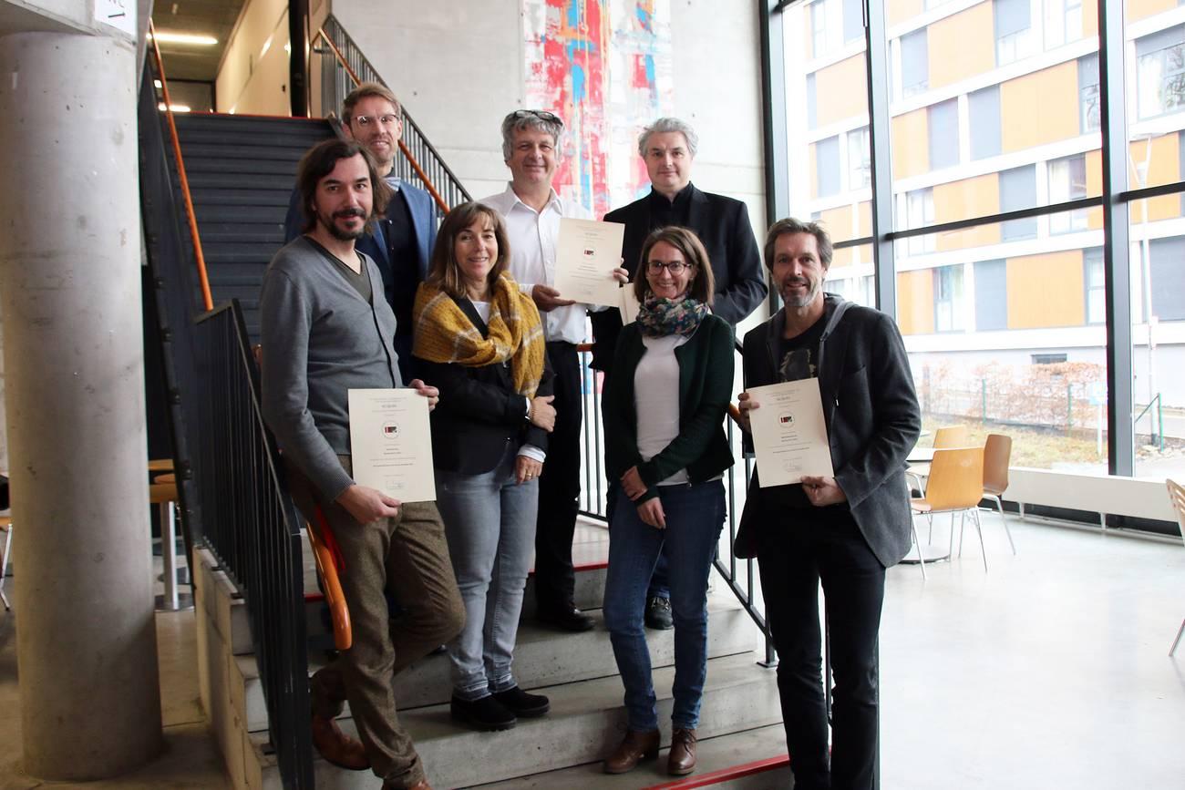 Professoren und Mitarbeiter der Fakultät Design