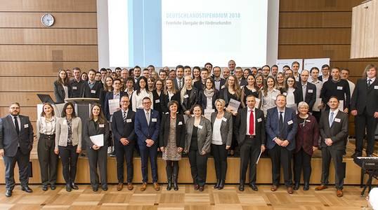 Deutschland-Stipendiaten und Förderer 2018
