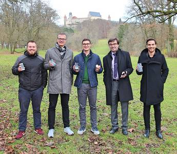Eric Rösner, Andreas Kücker, Jonas Knöffel, Markus Hoßfeld, Domenique Dölz