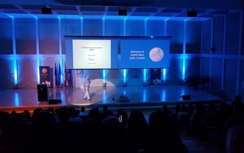 Nobelpreisträger Richard J. Roberts bei den Nobel Days an der University of Split