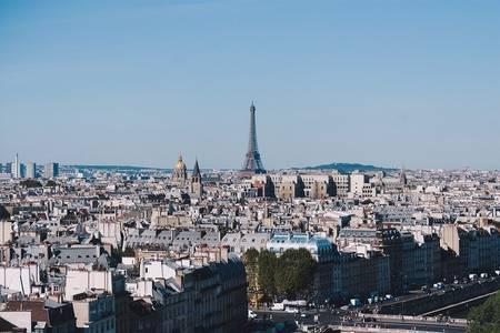 Ansicht von Paris mit Eiffelturm