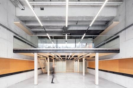 Hochschule Campus Design Architekturfoto Innenraum