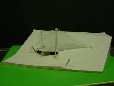 Das Modell von Michael Steffen und Simon Pilz (Foto: E. Niestroj)