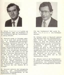 Prof. Hertrich (li.) und Prof. Schwarz