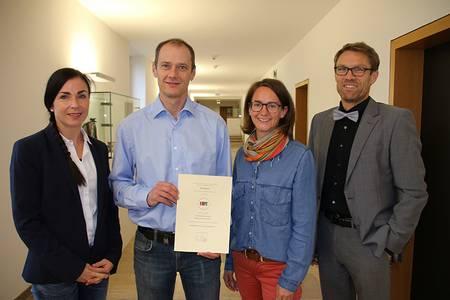 Claudia Holland, Prof. Dr. Stefan Gast, Victoria Grohmann, Prof. Dr. Michael Lichtlein