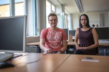 Markus Ring und Sarah Wunderlich