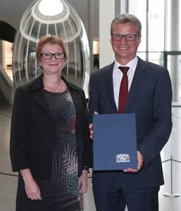 Prof. Christiane Fritze und Bernd Sibler