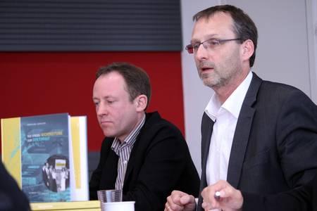 Hochschulpräsident Michael Pötzl plädiert für Nordzufahrt am Campus