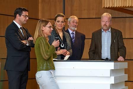 Gesprächsrunde mit Dr. Antonia Humm, Bodo Busse, Prof. Dr. Helmut Gudehus, Dr. Hubertus Habel moderiert von Uli Noll