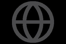 Piktogramm Weltkugel
