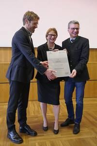 Michael Lichtlein, Christiane Fritze, Bernd Sibler