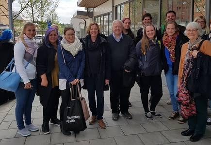 Gruppenbild in Schweden