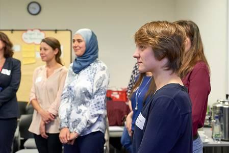 Teilnehmerinnen des Mentoring-Programms