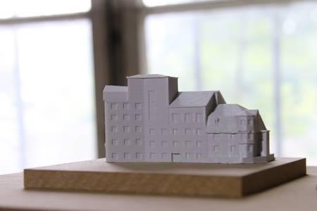 Ein 3D-Modell der Kirschbaummühle
