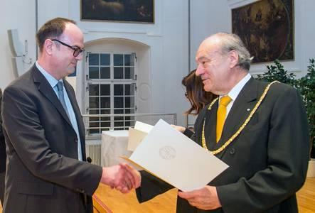 Prof. Dr. Niko Kohls und Dr. Felix Unger