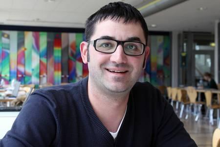 Stefan Autsch studiert über den sog. dritten Bildungsweg - und zwar ziemlich erfolgreich.