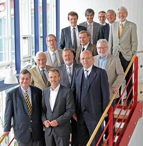 Präsident Prof. Dr. Michael Pötzl und Kanzlerin Maria Knott- Lutze vertreten die Hochschule in zwei wichtigen Gremien der Wissenschaftsstiftung Oberfranken.