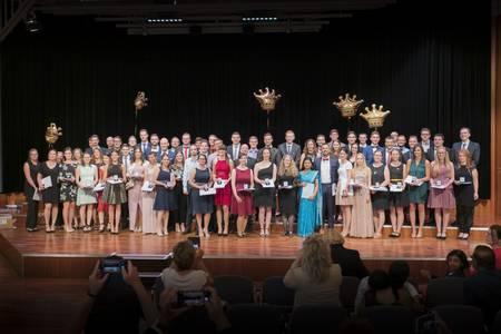 Geehrte bei der Absolventenfeier 2019
