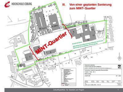 Lageplan Campus Friedrich Streib