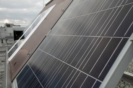 Ein Photovoltaik Modul