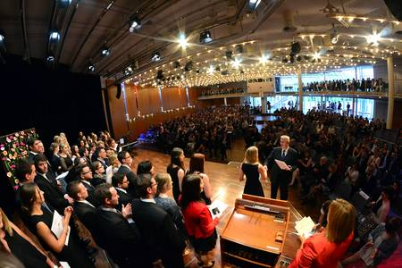 Absolventenfeier im Kongresshaus Rosengarten