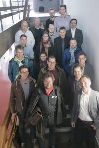 Gruppe der Wissenschaftler und Projektpartner
