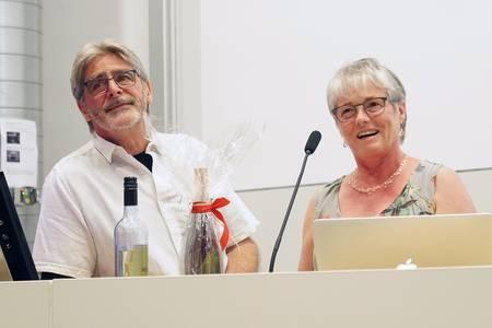 Helmut Bielenski und Maria Knott-Lutze