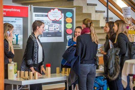 Studierende präsentieren ihre Projekte