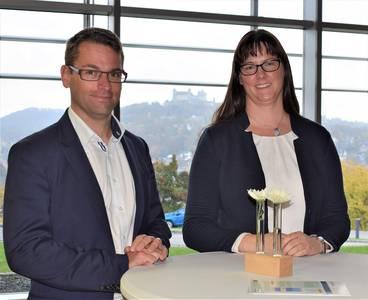 Sebastian Gebauer und Nicole Hermannsdörfer