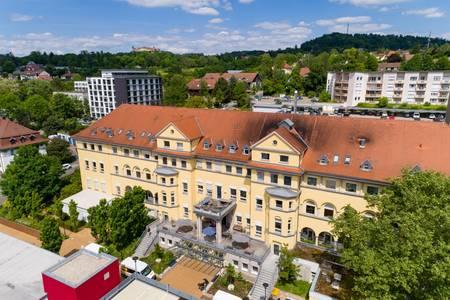 Gebäude der REGIOMED-KLINIKEN GmbH