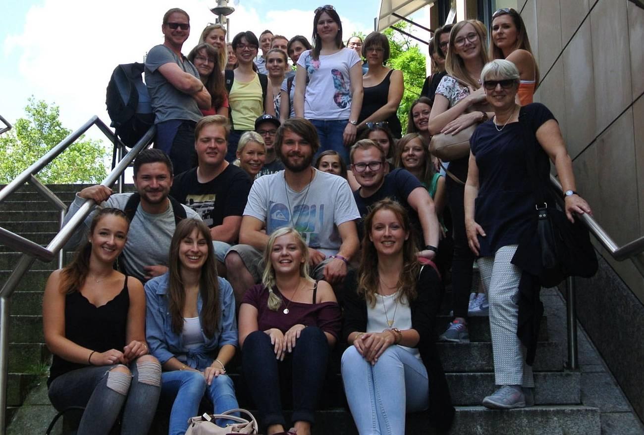Studierendengruppe in Ludwigsburg