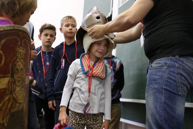 Mitmachen ist bei der KinderUni immer möglich.