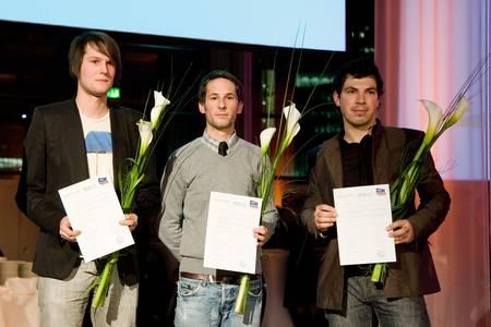 Preisträger Philipp Goreth (rechts)