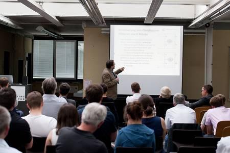 Vortrag von Michael Engel am Robotik Tag