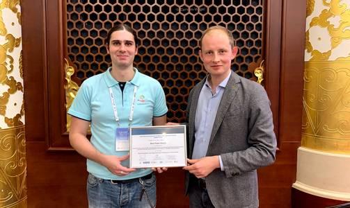 Daniel Schneider und Prof. Dr. Jens Grubert (v.li.)
