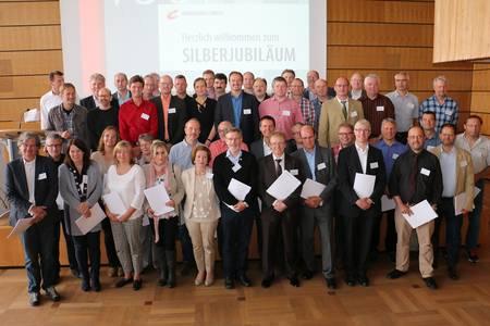 Mehr als 50 Alumni waren anwesend