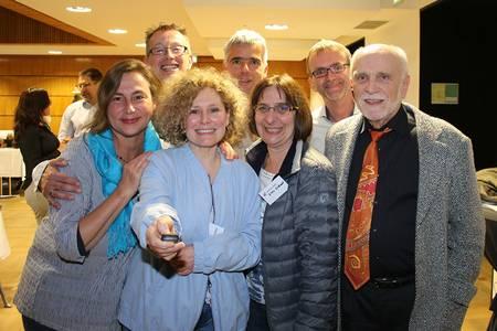 Gruppenbild von Besuchern des Silberjubiläums