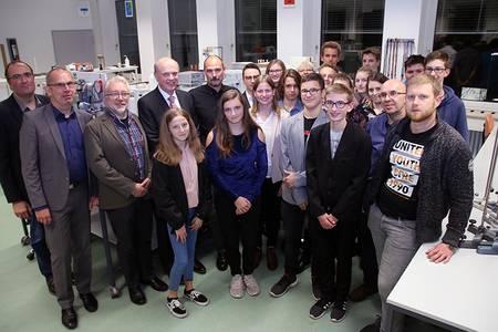 Schülerinnen und Schüler des Gymnasiums Ernestinum