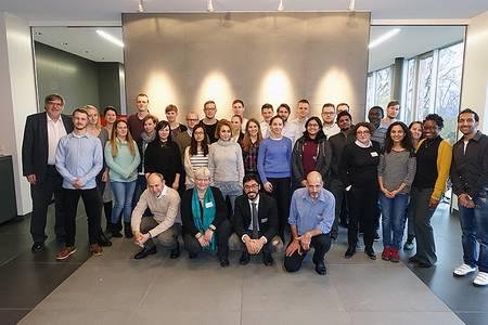 Gruppenbild Studierende und Referenten