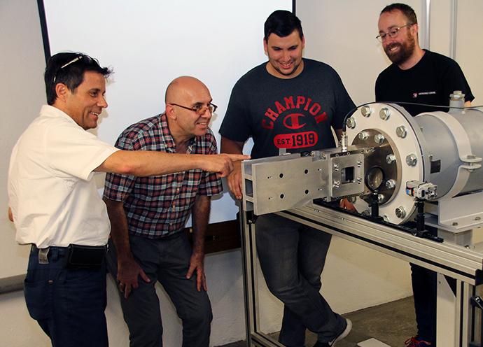 In der Fakultät Maschinenbau und Automobiltechnik gibt es einen neuen Überschall-Windkanal