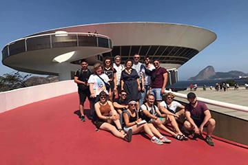 Teilnehmer der Brasilien-Exkursion